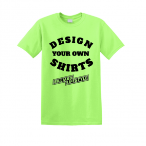 Design your own shirt – Dye Sublimated